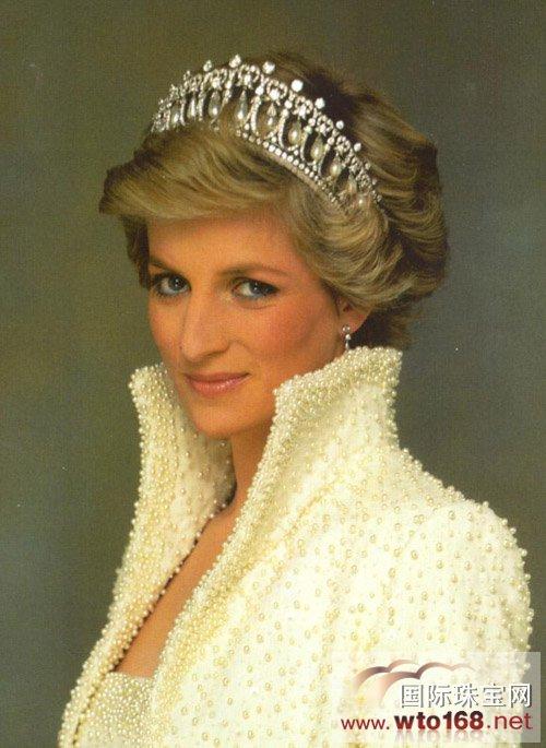 """戴安娜王妃与""""珍珠泪皇冠""""-金弘首推珍珠镶嵌,时尚新品震撼来袭"""
