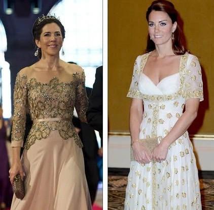 丹麦二王妃玛丽_英凯特王妃现vs丹麦王储妃玛丽