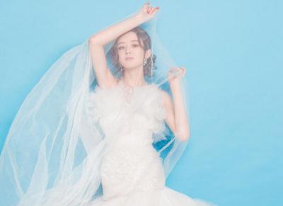 赵丽颖:最干净的婚纱照