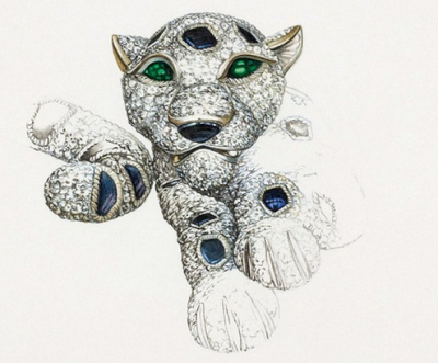 cartier 卡地亚美洲豹设计成就王者之路_国际珠宝网—
