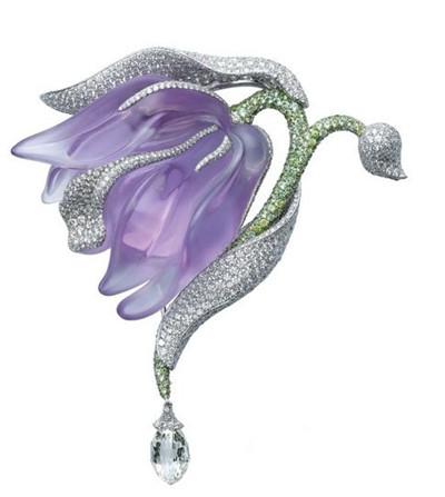 【时尚珠宝】世界顶级珠宝品牌永恒经典的花卉珠宝