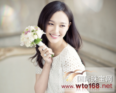 【结婚首饰】唐嫣登上某新娘杂志2015年六月刊封面