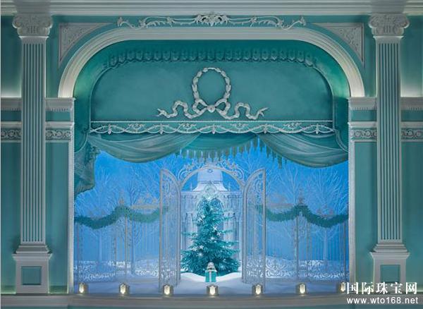 2015年Tiffany Co. 蒂芙尼 的圣诞橱窗展示出炉啦