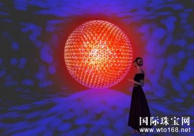 sol呈现出球状的镂空内部结构