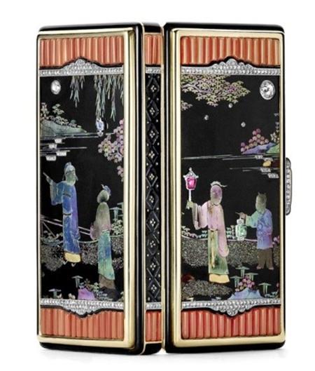 珠宝首饰海报背景中式