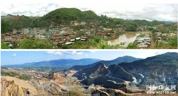 國際珠寶網之每日新聞:帕敢是世界上最早發現翡翠的地方,也是緬甸產玉最多、翡翠質地最好的產地。然而在這光彩奪目的玉石發源地,最近被一股極度緊張的氣氛籠罩著,而且很多民眾都不敢輕易出門,生怕一不留神就遭遇飛來橫禍。