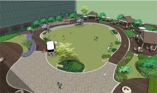 青岛万象城开启公园模式