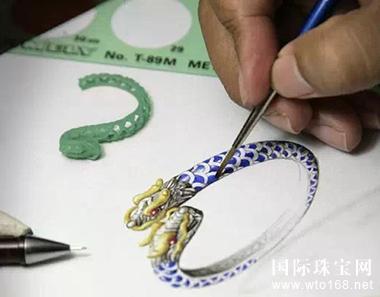 皇家蓝彩宝--世界顶级珠宝设计手绘欣赏_国际珠宝网