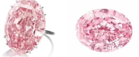 """""""粉红之星""""钻石以7100万美元成交 价格破纪录"""