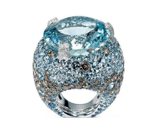 海蓝宝珠宝